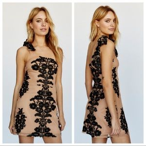 for love & lemons / temecula one shoulder dress